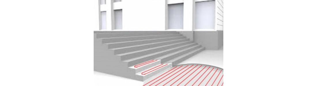 Системи кабельного підігріву відкритих поверхонь спортивних майданчиків, пішохідних зон, сходів, в'їзду в паркінг та інше