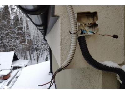 Профілактика та Сервісне обслуговування систем антиобледеніння та сніготанення - зовнішніх систем електрообігріву