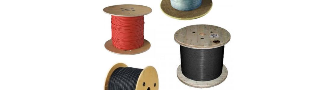 Асортимент відрізних резистивних одножильних, двожильних і саморегулюючих гріючих кабелів та готових нагрівальних секцій