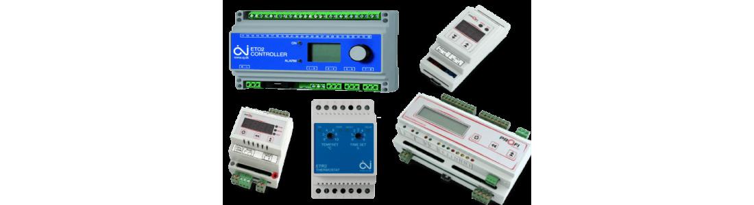 Терморегулятори, Контролери, Термостати для систем Сніготанення, Антиобледеніння, Обігріву трубопроводів та резервуарів