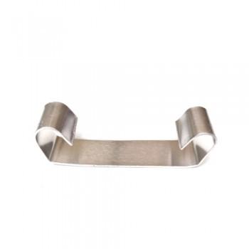 Кріплення алюмінієве для гріючого кабелю в жолобі