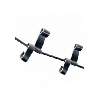 Кріплення алюмінієве для гріючого кабелю в трубах