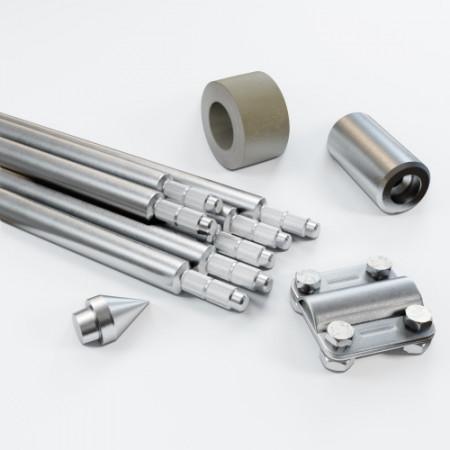 Комплект заземлення 10.5м D20 з оцинкованої сталі