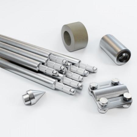 Комплект заземлення 12м D20 з оцинкованої сталі