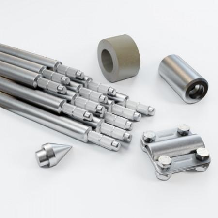 Комплект заземлення 18м D20 з оцинкованої сталі