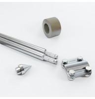 Комплект заземлення 1,5м D20 з оцинкованої сталі
