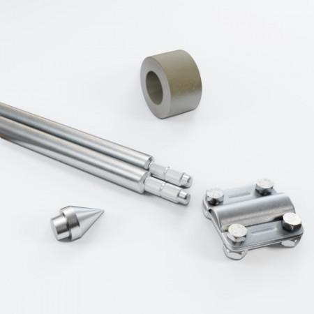 Комплект заземлення 3м D20 з оцинкованої сталі