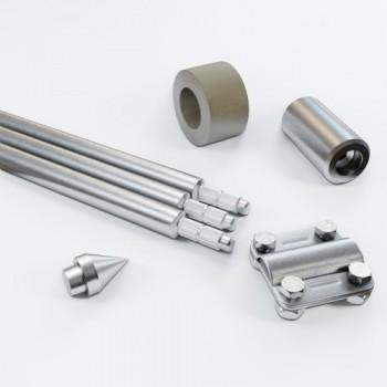 Комплект заземлення 4.5м D20 з оцинкованої сталі