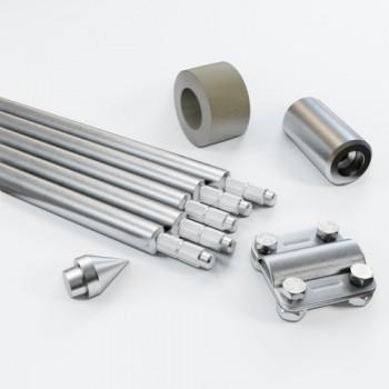Комплект заземлення 7.5м D20 з оцинкованої сталі