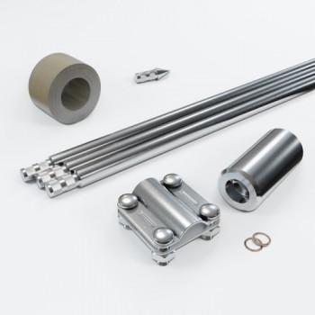 Комплект заземлення 4.5м D16 з нержавіючої сталі