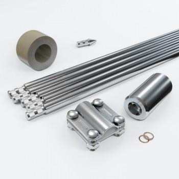 Комплект заземлення 7.5м D16 з нержавіючої сталі
